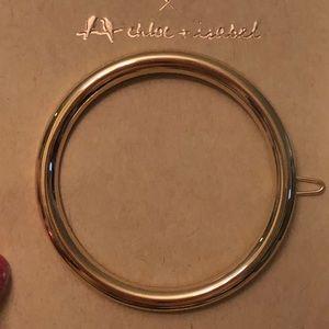 Gold Jen Atkins hair clip